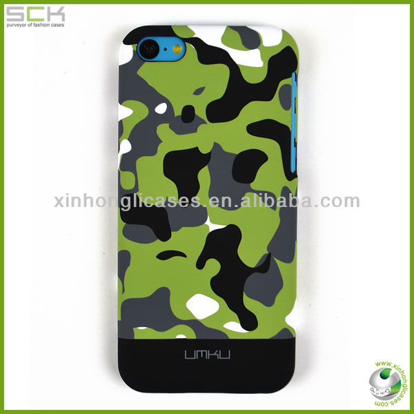 Plastic case for iphone 5c back cover housing