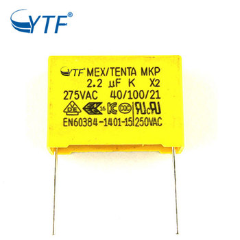 Metallized Polypropylene Film X2 Safety Capacitor 225k 275v