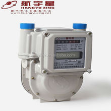 IC Card Prepaid Aluminium Case Diaphragm LPG Gas Meter G1.6