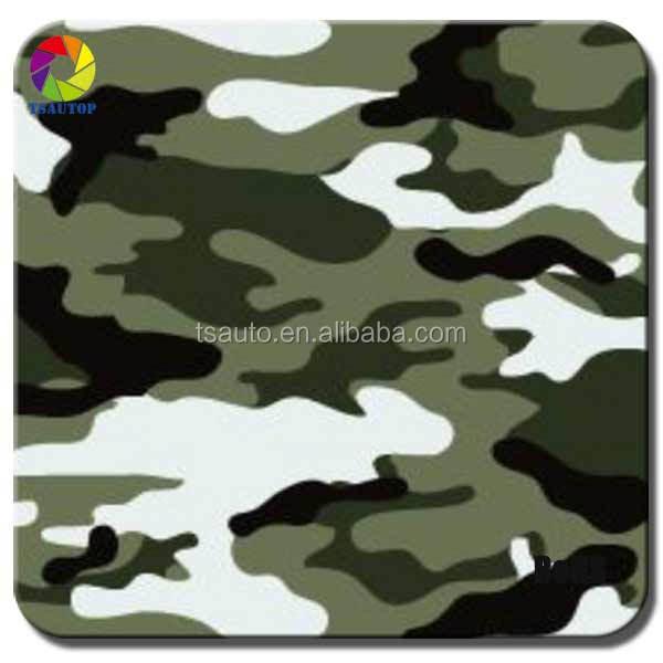 TSAUTOP 1.52*30m Camouflage Car Wrap Vinyl car body sticker decal paper pvc