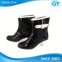 Factory best price all color available popular european style rain boots