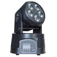 Professional 5pcs*15W RGBWA LED Mini Moving Head Wash Light For DJ Party