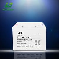 wholesale price 12v 75ah deep cycle sun solar battery in pakistan