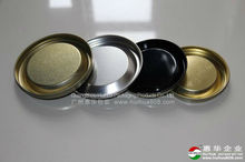 Paper Can Metal Lids Stretch Lid