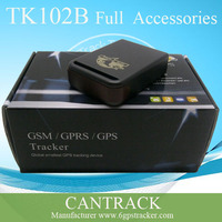 Gps sim card tracker support TF card magentic cover tracking device for person & car