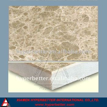 Emperador light marble composite tiles