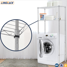 Holders &amp; Racks Type And Chrome Metal Type Wire shelving Rack/<strong>shelf</strong> For Wash Basin