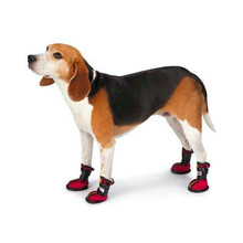 Fashion design hot sale snow boots for dog