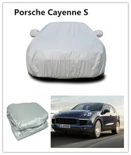 car protect cleaning PEVA/PVC Composite cotton antifreezing winter use car cover For Porsche Cayenne S