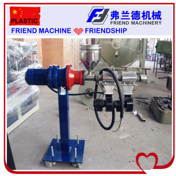 SJ25/25 Plastic Lab Extruder Machine for Test
