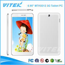6.95 inch Android MTK83121.2GHz Touch Panel Low Cost 3G Tablet PC Phone