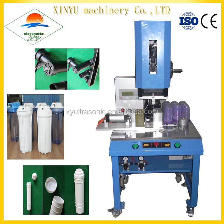 China manufacturer spin melting welding circular products plastic pipe welding machine