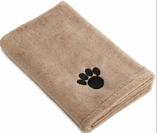 Wholesale microfiber pet towel water absorption ultra soft quick dry