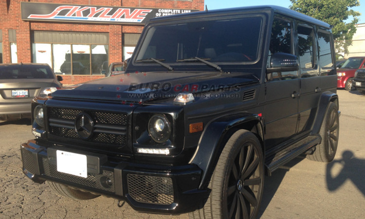 G63 full set fit for W463 G500 G550 G55 changing into G63 body kits PP material