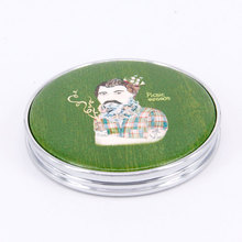 Novelty design cheap price cosmetic mirror for promotion