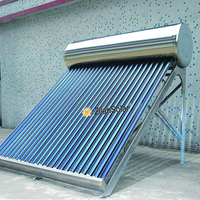 300l evacuated tube solar collector agriculture project solar geysers