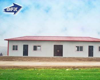 Low Cost Steel Structural Frame Prefab House For Kenya