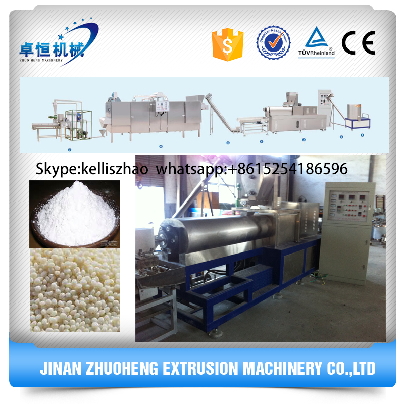 gypsum plasters use modified starch processing line machinery