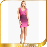20134women pink cocktail dresses online without sleeves