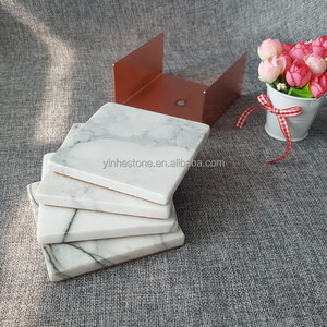 Top sale guaranteed quality marble drink coasters and table mat