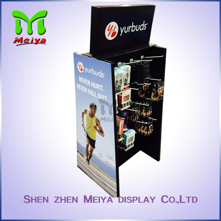 Modern design cardboard display for cases With Good Quality
