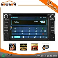 2 din 6.2 inch in dash car dvd player with gps Bluetooth Radio