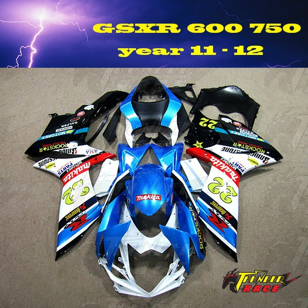 ABS Fairing kit for SUZUKI GSXR600 GSXR750 <strong>k11</strong> year 2011 2012 11 12