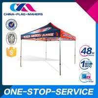 High Quality Customized Logo Printed Metal Structure Pavillion Tent