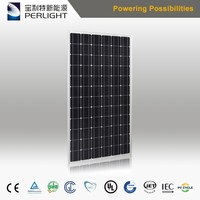 Cheap price perlight 1000w solar home system 200W 300W 320W Solar panel with ISO9001 Certificates