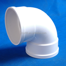 90 degree Elbow pvc plastic pipe fittings for water pipe