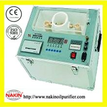 High voltage power station transformer oil's quality testing instrument