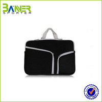 Cheap Wholesale Neoprene Laptop Sleeve With Zipper,leather laptop sleeve
