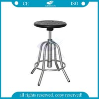 AG-NS002 cheap metal frame height adjustable medical operating stool