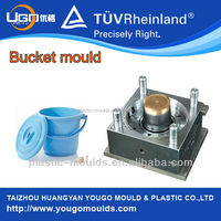 China mould manufactures for plastic paint bucket 20litre ice bucket plastic mould