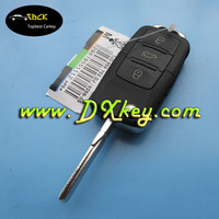 Hot sale 3 buttons universal car remote key 315Mhz with ID48 chip for vw key vw remote key