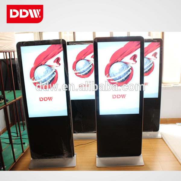 "55"" LCD/LED Display Free Standing Digital Signage Advertising Player"