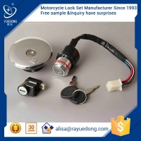 YUEDONG High Quality Zinc GN125 ignition switch 6 wire & 4 wire motorcycle for suzuki parts