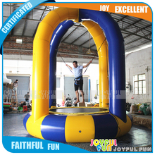 Exciting Inflatable Jumping Equipment Crazy Bungee Jumping for Kids and Adults Mobile Inflatable Bungee Trampoline