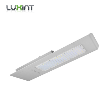 120w waterproof IP65 outdoor integrated microwave sensor all in one solar led street light