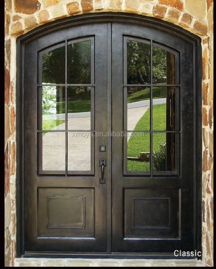 Wholesale steel exterior french doors online buy best for Double french doors for sale