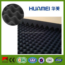 Egg crate soundproof acoustic foam rubber sheet