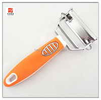 SK-360 high quality popular TPR handle stainless steel potato peeler