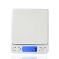 Silvery Electronic Kitchen Double Pan Balance Scale