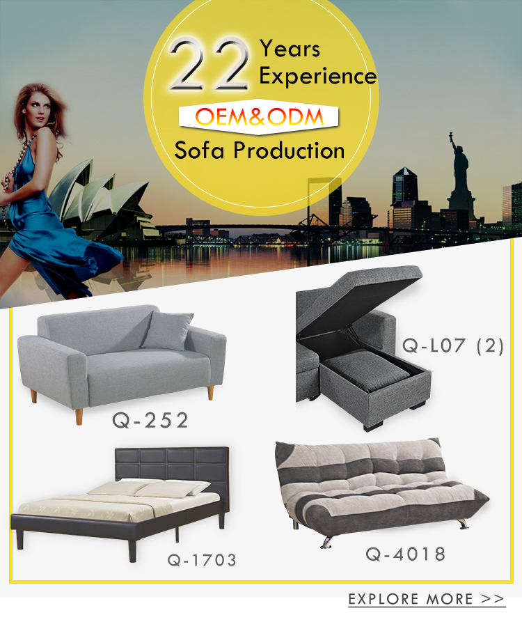 Modern design come folding lazy boy sofa bed