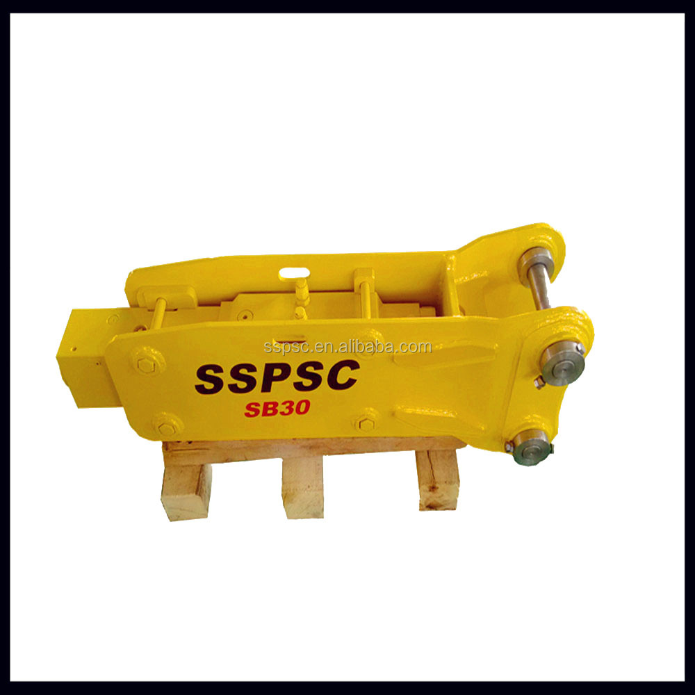 top type hydraulic rock bead breaker of SB30