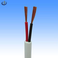 Cheap price 2 cores 18awg pure copper conductor pvc coated non-shielded round cable
