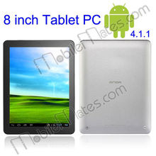 "Onda V801 A31 Quad Core Allwinner Android4.1.1 8"" DDR III 2GB 16GB Capacitive Touch Screen Tablet PC"