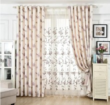 Classic style economical and practical window curtains