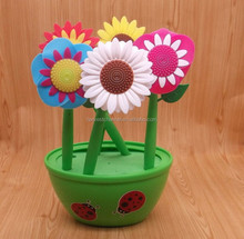 flower novelty pen collection bouncing/bobble head pens