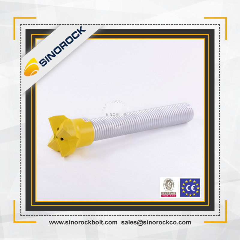 SINOROCK high quality self drilling anchor bolt / mining drill bolt / hollow core anchor bolts